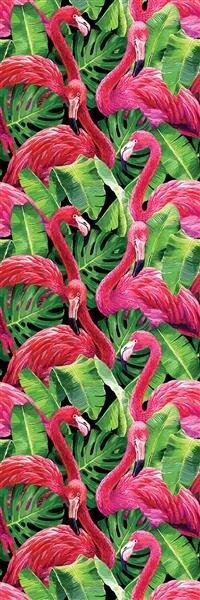 Global Fusion - Panel 106 X 320 CM Flamingos