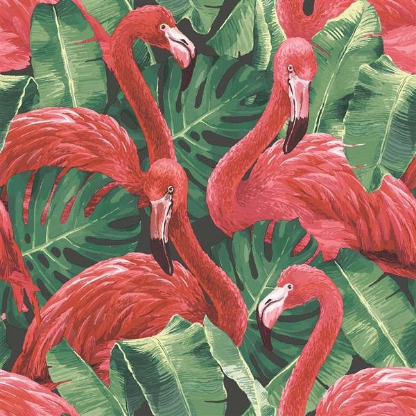 Global Fusion - Tapete Flamingo