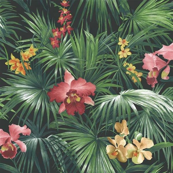 Global Fusion - Tapete Floral Fauna