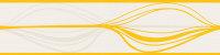 Bordüre Swing Line junges wohnen Creme Gelb