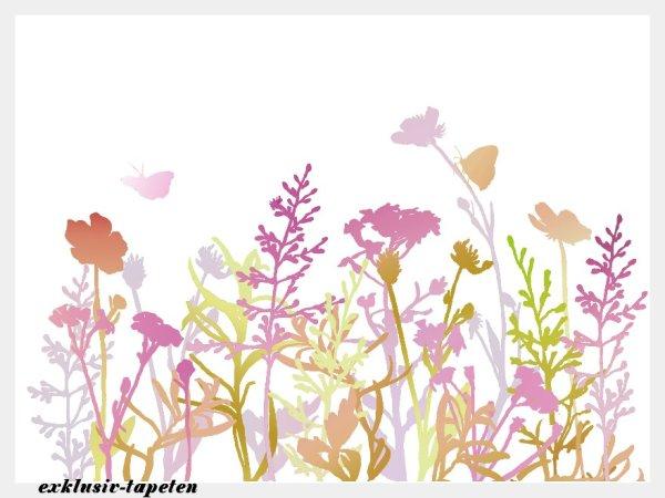 XXL wallpaper Flowering 5 x 3,33 Meter (150g Vlies)