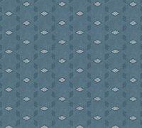 Tapete Vliestapete grafisch Life 4 blau grau