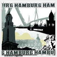 M wallpaper City Hamburg 1,33 x 2 Meter (150g Vlies)