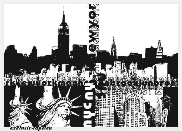 XL wallpaper City New York 4 x 2,67 Meter (150g Vlies)