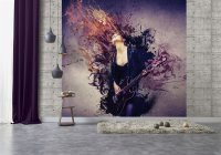 Grunge Musik Wallpaper  250 x 265 cm (HxB)