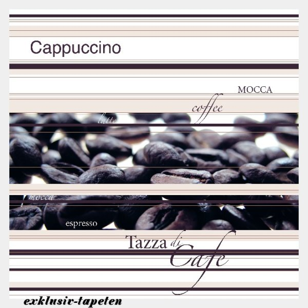 M wallpaper Coffee 1,33 x 2 Meter (150g Vlies)