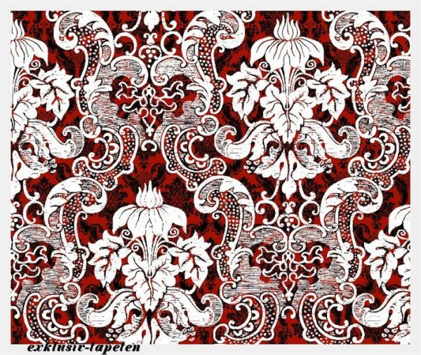 M wallpaper Baroque 4 / 1,33 x 2 Meter (150g Vlies)