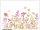 M wallpaper Flowering 1,33 x 2 Meter (150g Vlies)