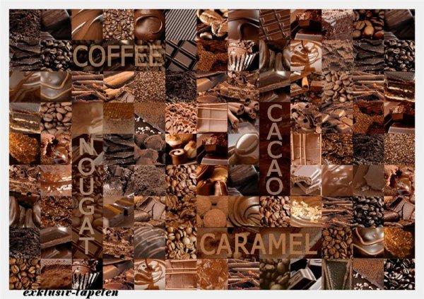 L wallpaper Cocoa 3 x 2,5 Meter (150g Vlies)