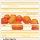 L wallpaper Orange Lemon 3 x 2,5 Meter (150g Vlies)