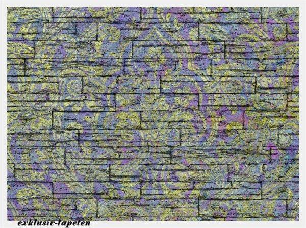 L wallpaper Ornament 3 x 2,5 Meter (150g Vlies)