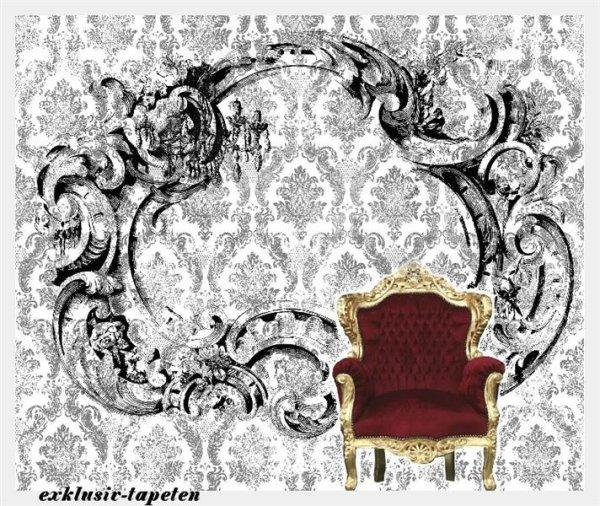 L wallpaper Baroque 3 x 2,5 Meter (150g Vlies)