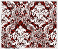 L wallpaper Baroque 4 / 3 x 2,5 Meter (150g Vlies)