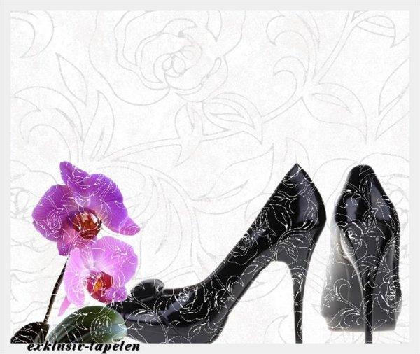 L wallpaper High heel  3 x 2,5 Meter (150g Vlies)