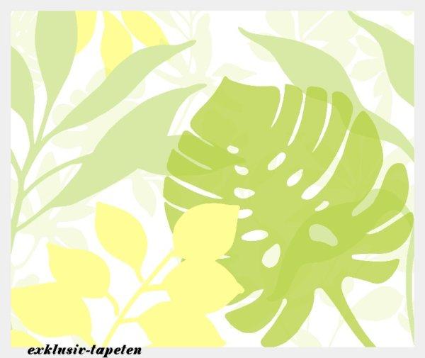 L wallpaper Leaf  3 x 2,5 Meter (150g Vlies)