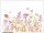 L wallpaper Flowering 3 x 2,5 Meter (150g Vlies)