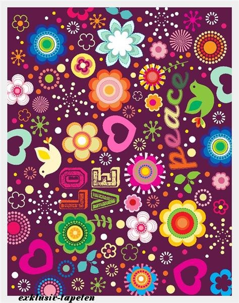 XL wallpaper Love 4 x 2,67 Meter (150g Vlies)