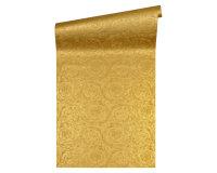 Versace wallpaper Tapete Versace 4 Barocco Metallics 366923