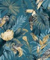 Amazzonia  Tapeten Dschungel Papagei