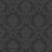 Simply Silks Tapete Barock schwarz