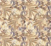 Vliestapete XL Rolle 10,05 x 1,06 M. Floral Fauna