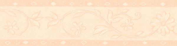 Bordüre Borte Change Blumen aprico Design