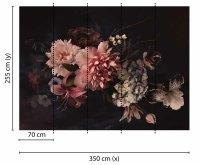 Fototapete 3,5 x 2,55 M. Blossom Variety 1