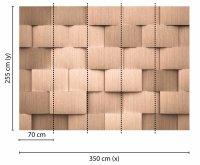 Fototapete 3,5 x 2,55 M. Alu Pattern 2