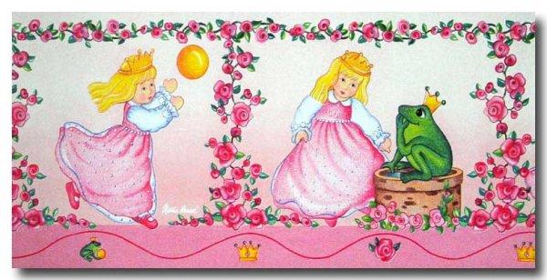 Käthe Kruse Puppen Bordüren Mädchen Kinderzimmer