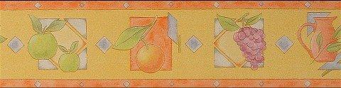 Bordüren Borte Früchte Küche Esszimmer