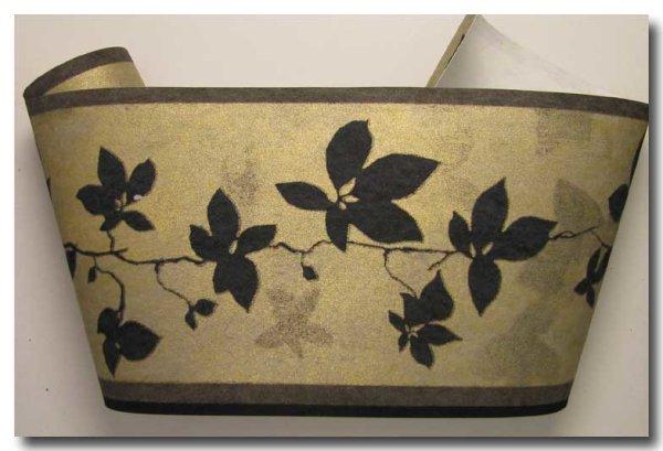 Borte Tapetenborte floral Batiklook