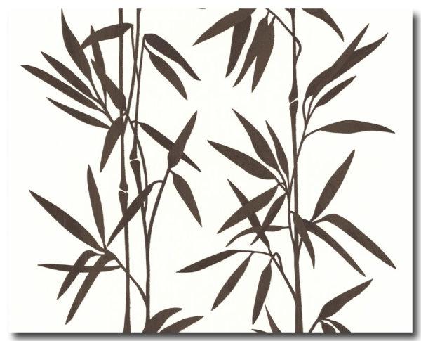Tapeten Designpanels Asia Bambus Design