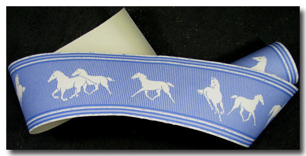 Tapetenborte Bordüre Pferde
