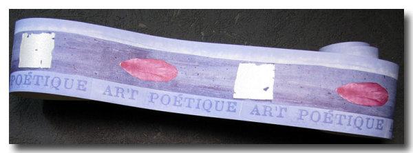Tapetenborte Bordüre Design Art Poetique
